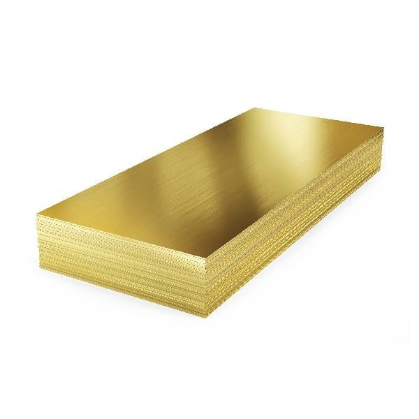 Brass sheer for plating